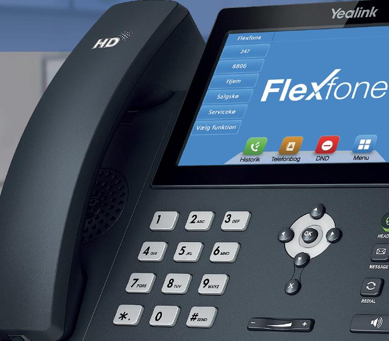 En driftssikker og professionel telefonløsning er nødvendig i en virksomhed